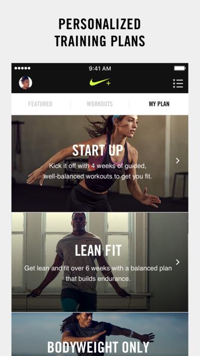 Nike+ Training Club 2