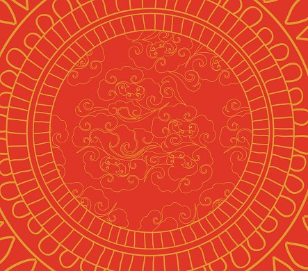 Chinese New Year Pattern Background stock vectors - 365PSD