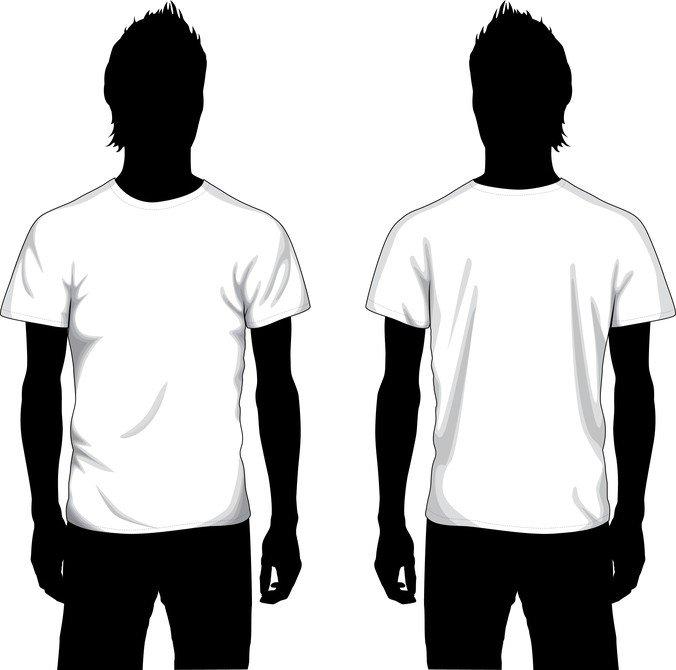 Free Vector Boy T-Shirt Template PSD files, vectors  graphics