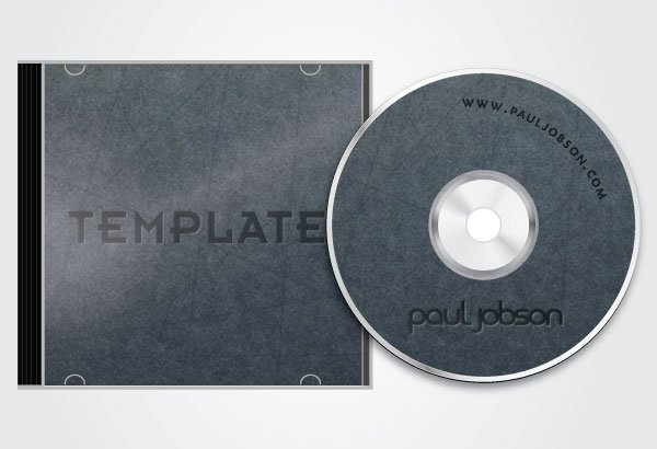 Free Vector CD and CD Cover Design Template Free PSD files, vectors