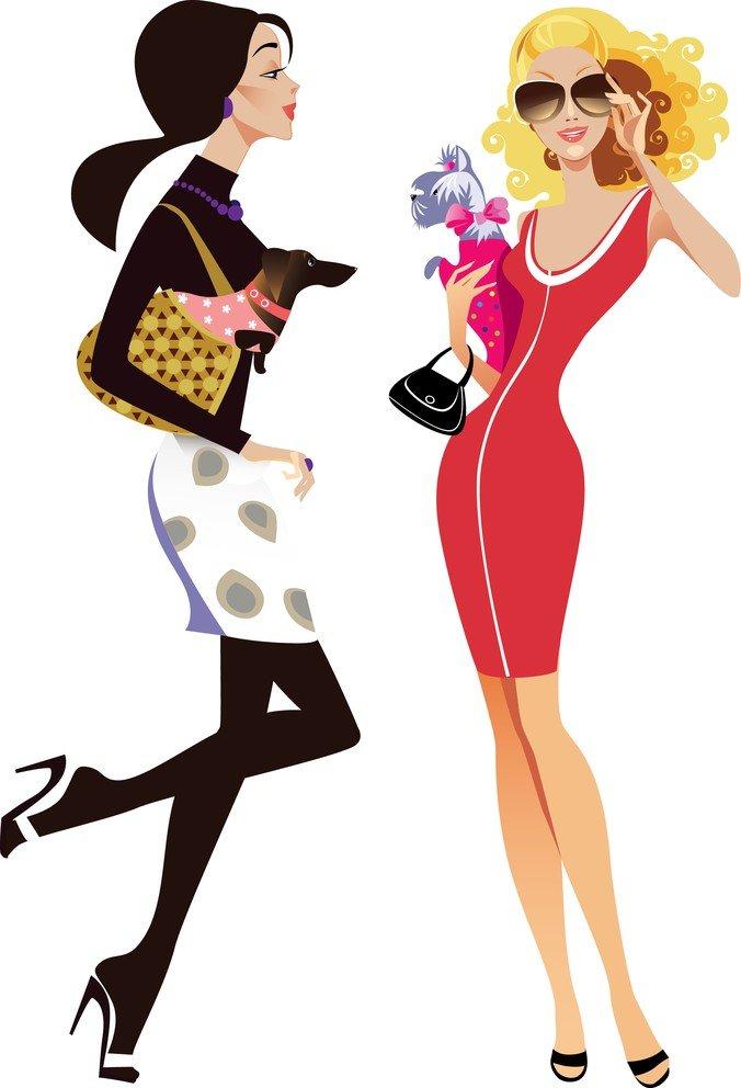 Free Female Fashion Illustrator 01 PSD files, vectors  graphics