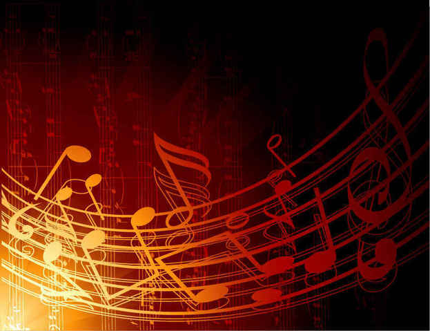 Free Free Vector Abstract Music Background PSD files, vectors