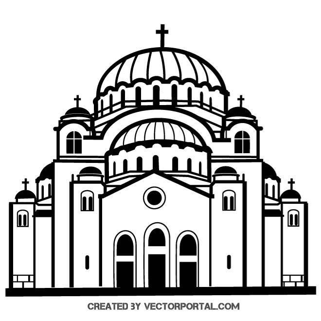 Free CHURCH VECTOR GRAPHICSeps PSD files, vectors  graphics