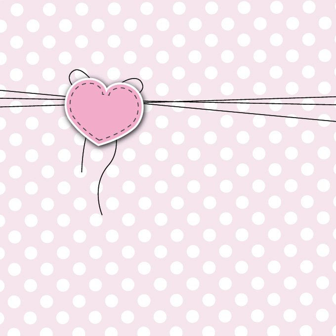 Free Cute Love Greeting Card Heart Background PSD files, vectors