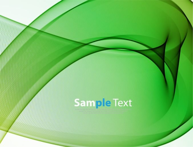 Free Abstract Green Waves Background PSD files, vectors  graphics