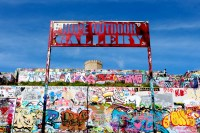 Only In Austin: The Baylor Street Art Wall - 365 Things to ...