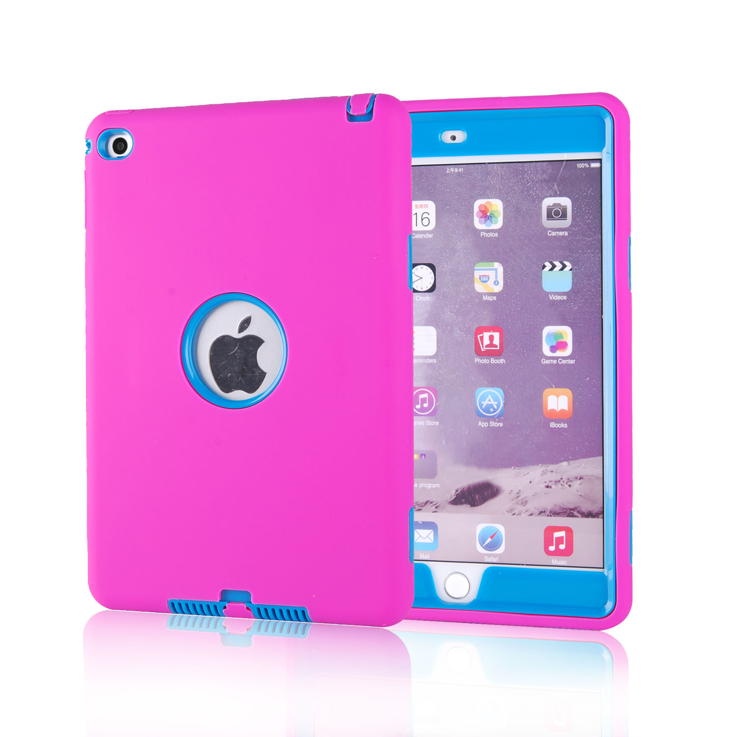 Ipad Mini Cover New Shockproof Hybrid Heavy Duty Rubber Hard Case Cover