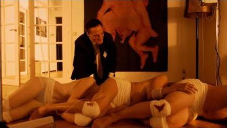 Still from Human Centipede (First Sequence)