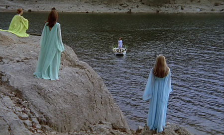 Still from Girl Slaves of Morgana le Fay [Morgane et ses Nymphes] (1971)