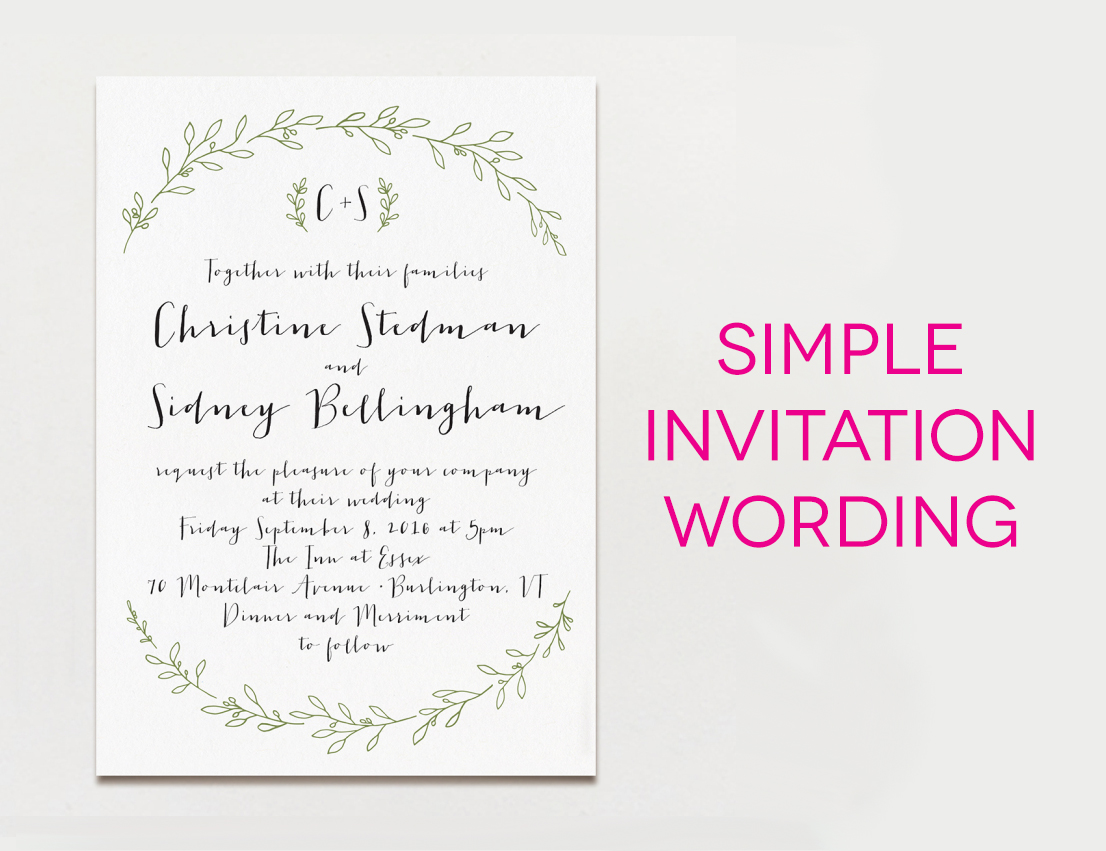 How To Write Invitation Letter For Wedding Ceremony – Get Together Invitation Template