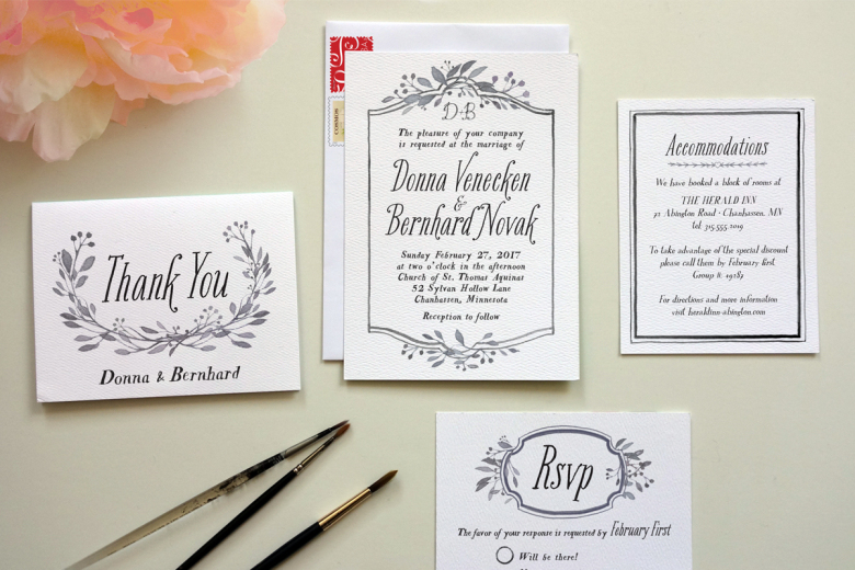 How To DIY Wedding Invitations - Best Of Handmade Formal Invitation Card