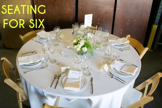 How To Create Your Wedding Seating Chart A Practical Wedding - wedding reception setup with rectangular tables