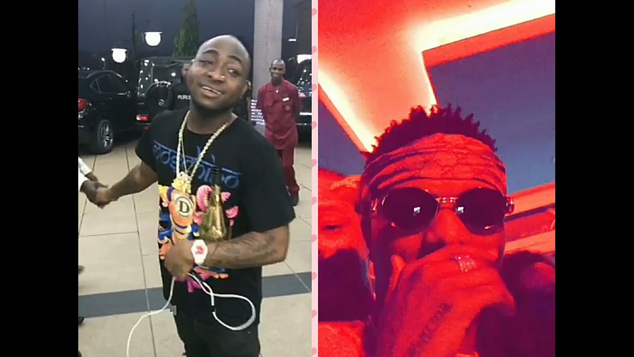Wizkid Video Video Wizkid Davido Hug Each Other As They Turn Up For