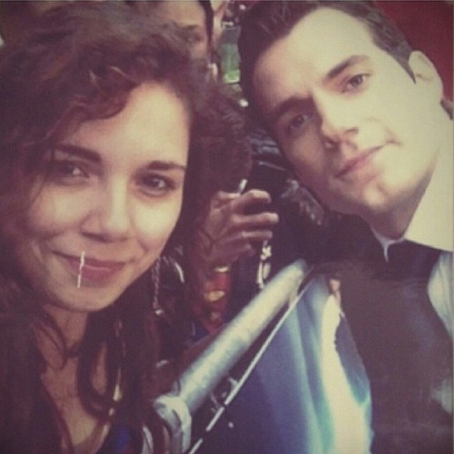 """Exclusive:""""THEY COULDN'T HAVE PICKED A BETTER SUPERMAN!""""Tia, @featherjunkie (Instagram) is an aspiring actress and a true Henry Cavill fan. She met Henry at the London premiere of Man of Steel. Tia was gracious enough to share her story with us.""""First I'll start if with a tiny introduction, Tia John-Thomas is my stage name, I'm an aspiring actress and met quite a few people…. sooo…I'm with a friend at the movie premier of MOS, all these actors are passing us and I can't stop thinking about Henry. Not in a creepy way,but I've been a big fan of his since .. Forever.. I loved him in The Tudors, in fact I only watched it for him. So when I was given the chance to meet him…fact to face.. I wasn't going to run it down. But I also had an audition that day! So I was running around and doing my hair perfect cause I knew I'd be getting a pic with him.The moment is here, he's walking right towards me! I reached out and pulled him close, he was a complete gentleman. """"hello, how are you?"""" He greeted, """"never better"""", he smiled and posed for a pic, """"they couldn't of picked a better superman"""" I said and he said """"thank you"""" before shaking my hand. He looked so happy after and he was gone. I would kill to be in a movie with him one day, watch that spot because Henry is going far!!""""We love this story! Tia shares so many of things that Cavill fans can identify with. We respect and admire his work. So yes, we think about him, but not in a creepy way. A lot of us are guilty of watching The Tudors only for Henry. We also understand that getting a picture with Henry on the red carpet is a one shot deal. When the opportunity arises, Cavill fans are prepared. Last, but not definitely not least, """"They couldn't have picked a better Superman."""" Every Cavill fan wholeheartedly agrees, Henry was born to play Superman.Thank you Tia for sharing your story. It was a pleasure to converse with you. Remember to, """"Stick in,"""" and we know we will see great things from you.Source: featherjunky"""