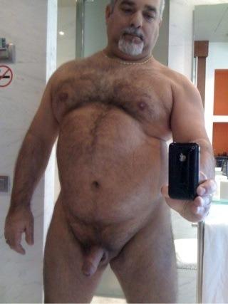 black daddy bear