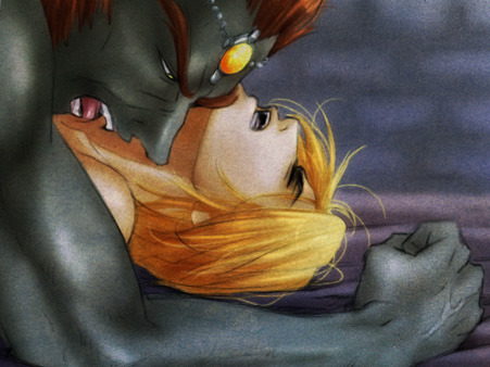 link and dark link fighting