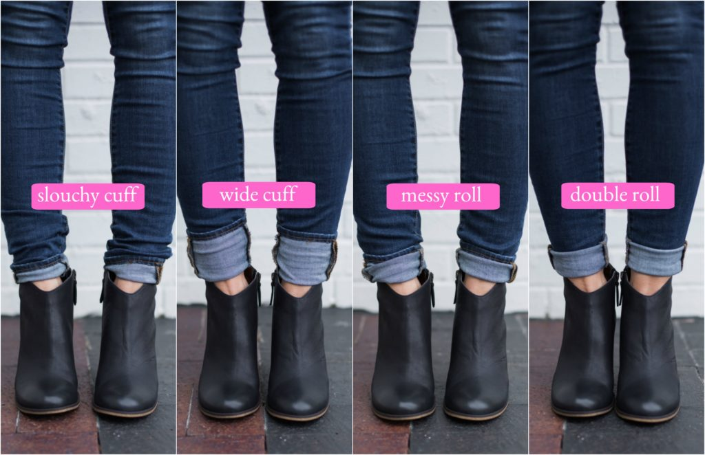 Sugarplum Style Tip How To Wear Ankle Boots With Skinny