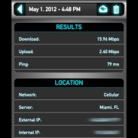 iPad with Verizon LTE Speed Test, Miami edition.
