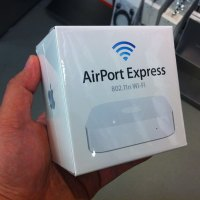 The new AirPort Express.
