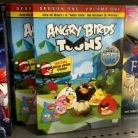 Apparently Angry Birds Toons is available on Blu-ray and DVD