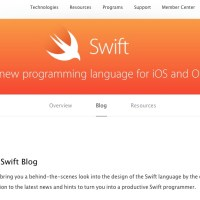 Swift Blog for Apple Developer