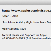 Scam Alert: AppleSecurityIssue.com