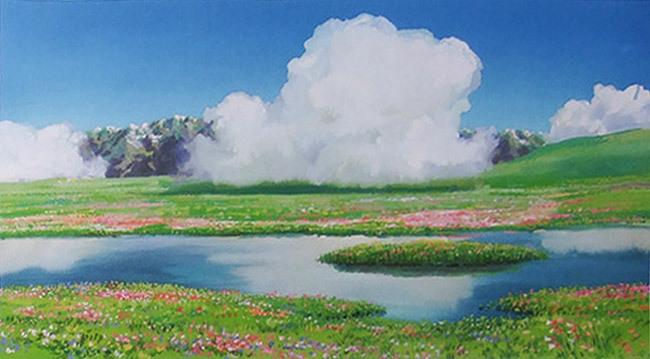 Howls Moving Castle Hd Wallpaper Howl S Moving Castle Animation Studio Ghibli Visual
