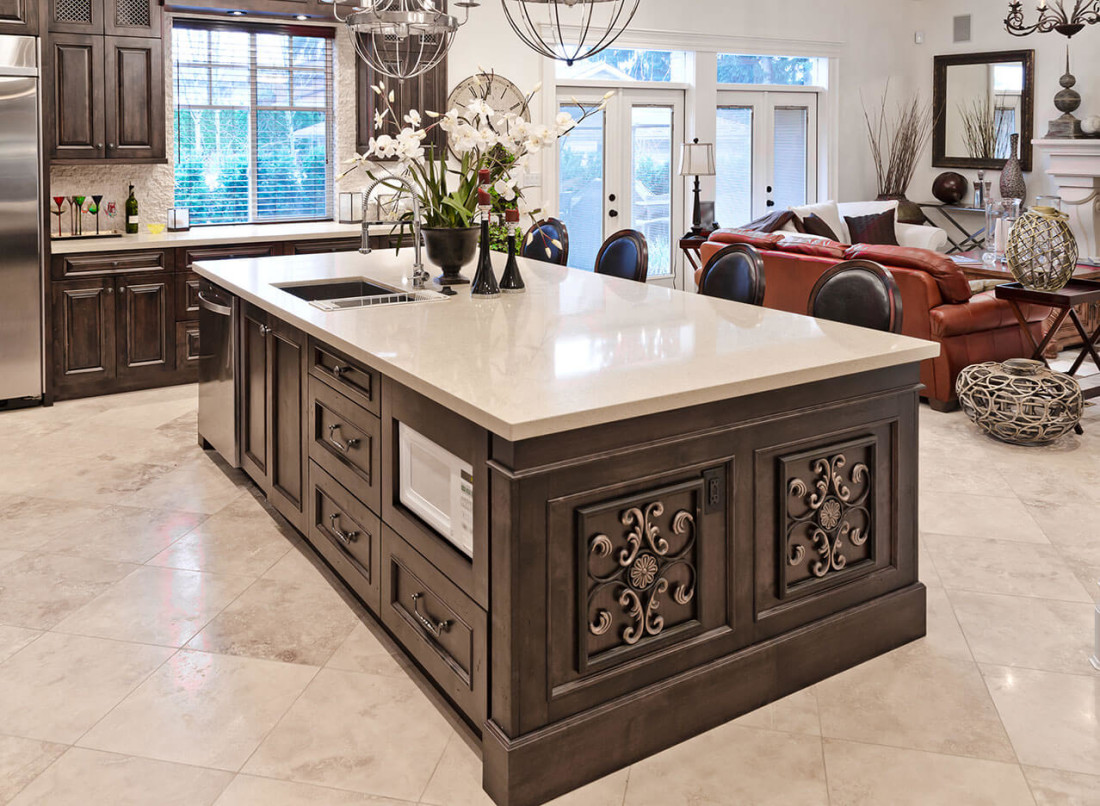 Limestone Quartz Countertops Kitchen Design Gallery Great Lakes Granite And Marble