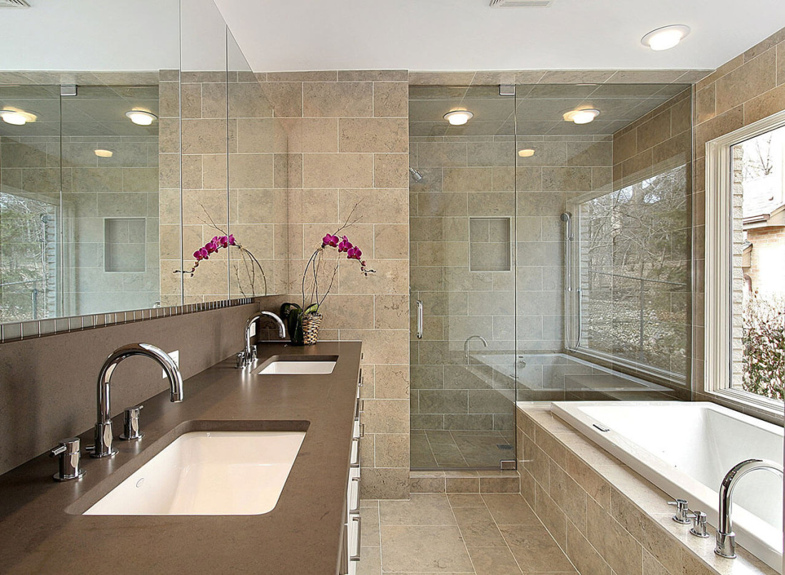 Bathroom Design Gallery Great Lakes Granite Marble - Granit Badezimmer