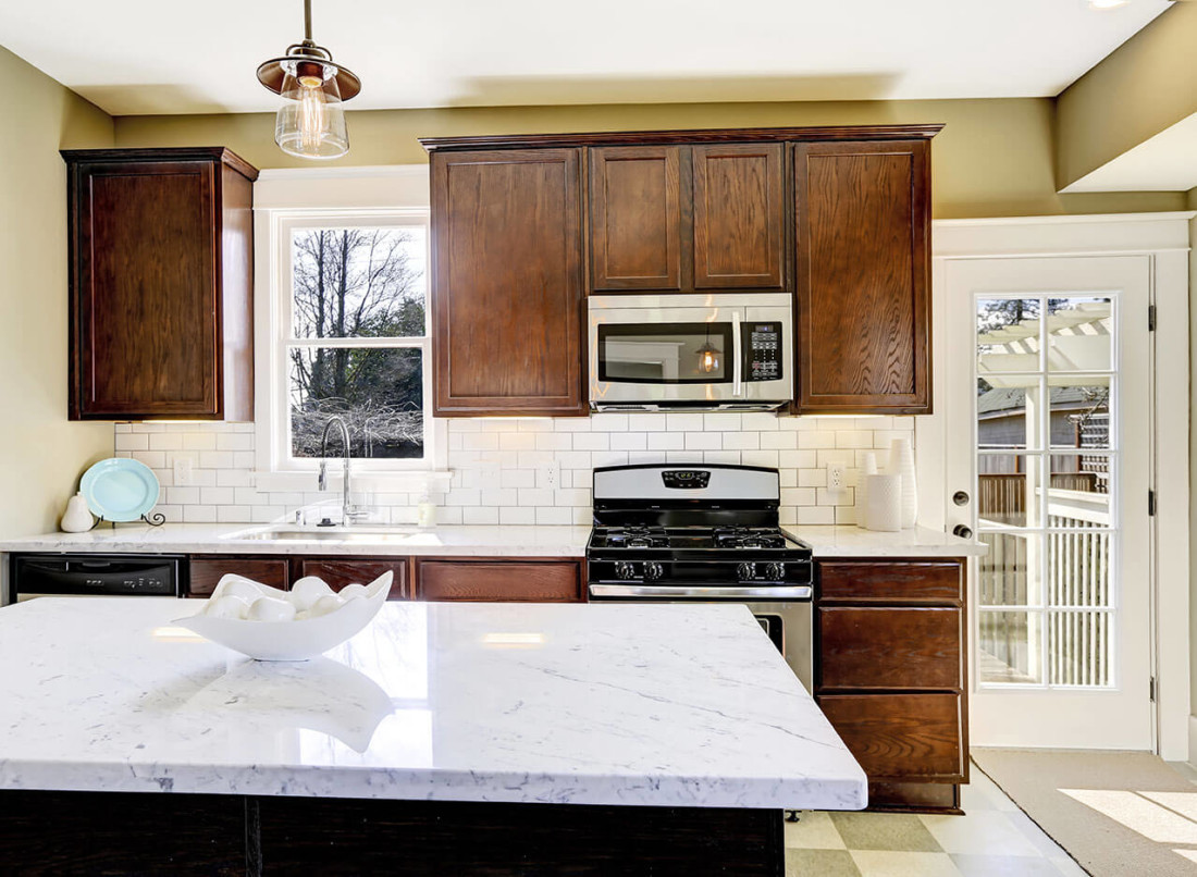 White Carrera Marble Kitchen Countertops Kitchen Design Gallery Great Lakes Granite Marble