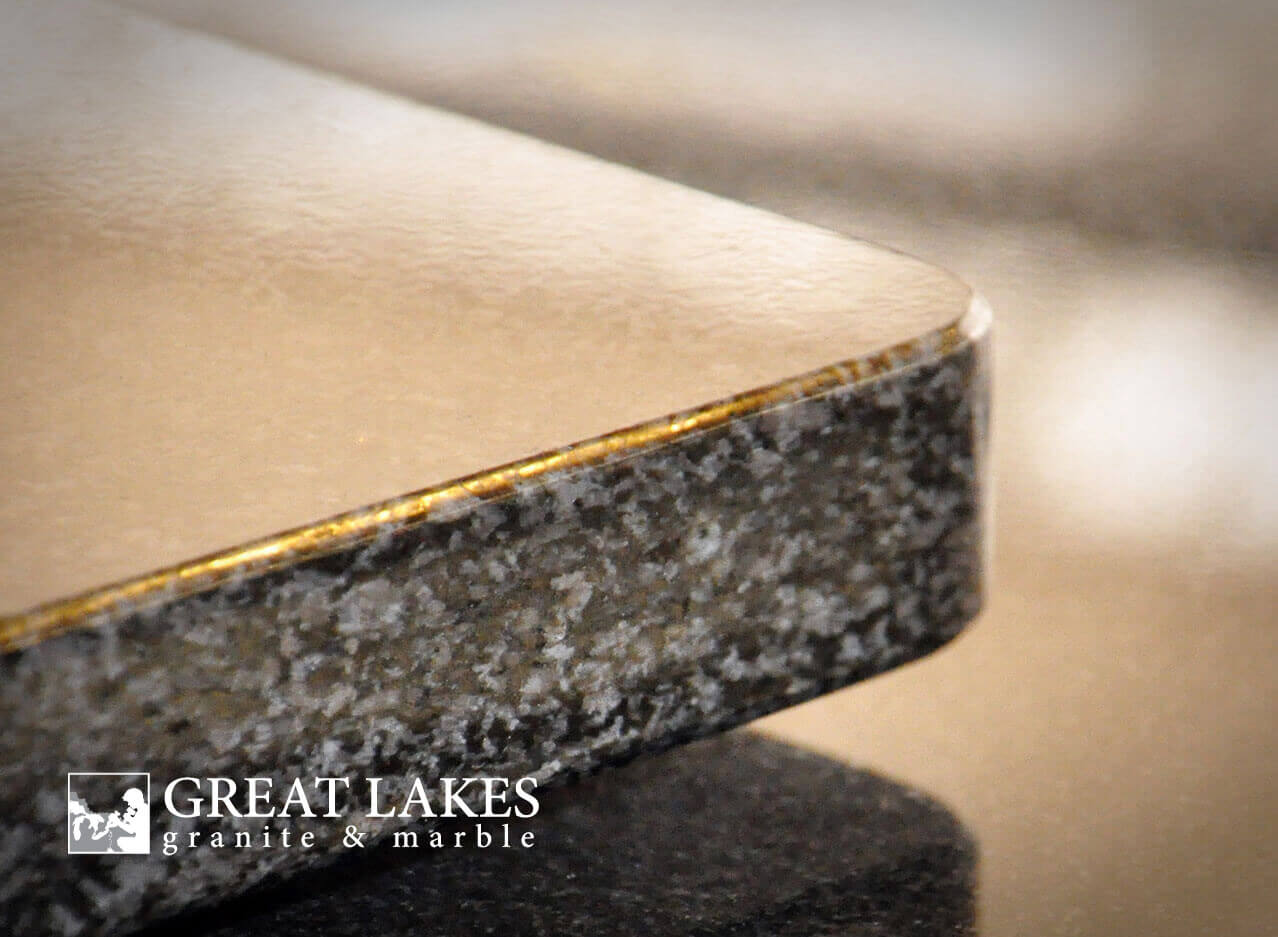 Choosing An Edge For Your Kitchen Countertop Great Lakes Granite Marble