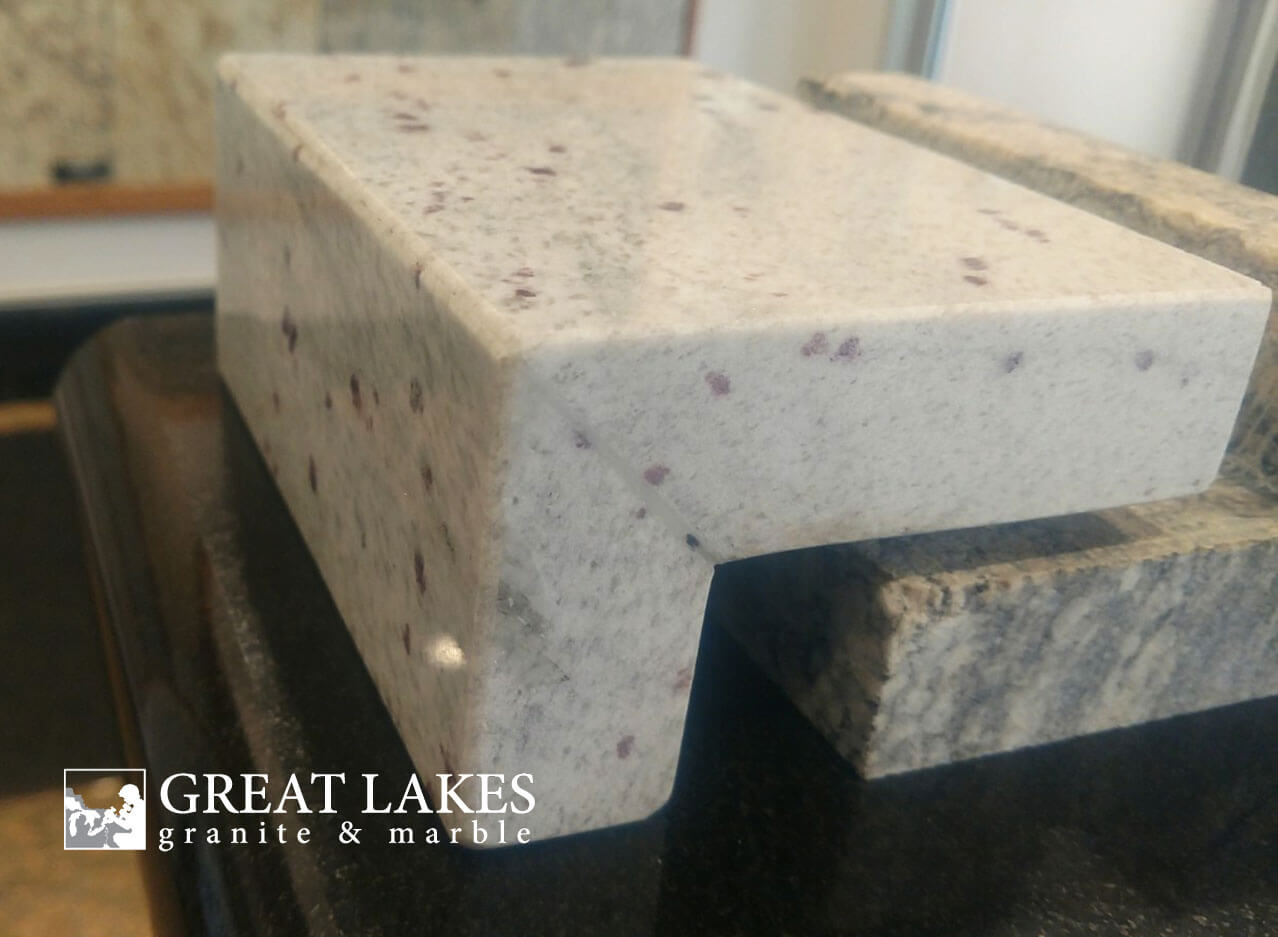 Kitchen Countertop Edges Choosing An Edge For Your Kitchen Countertop Great Lakes Granite