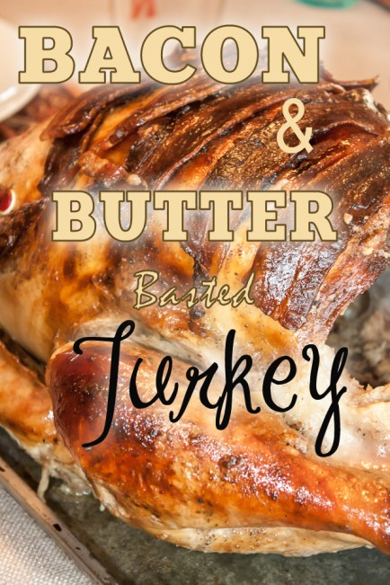 How to make a bacon basted turkey for thanksgiving