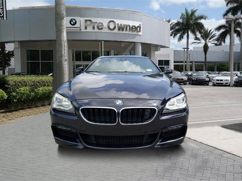 Bmw Gran Coupe 6 Pre Owned 2013 Bmw 6 Series 650i Gran Coupe Rwd 4d Sedan
