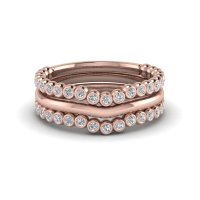 Stackable Rings & Bands Online | Fascinating Diamonds
