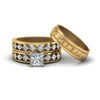 Engagement Rings  Bridal & Trio Wedding Ring Sets ...