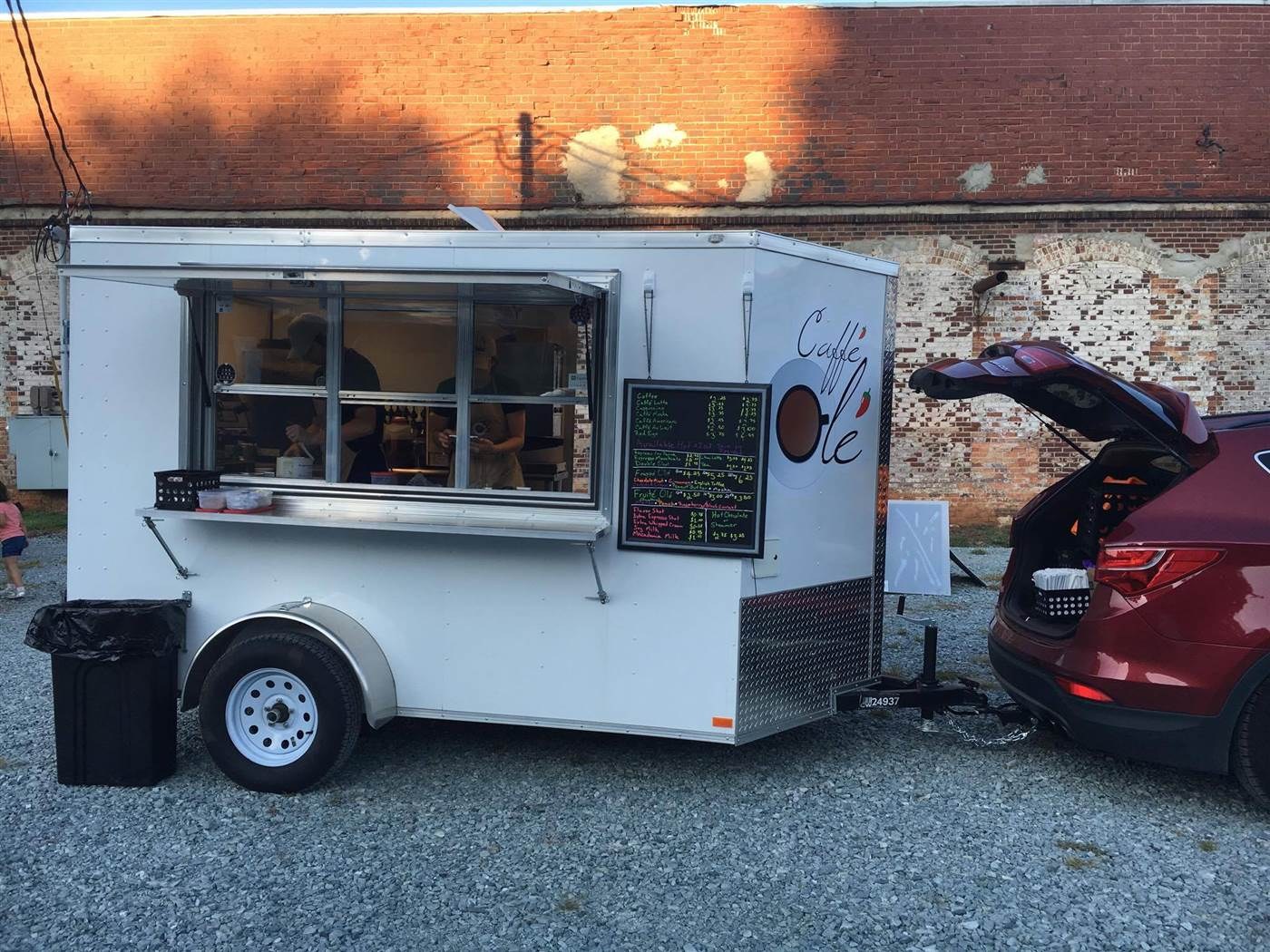 Alchemy Coffee Food Truck Brilliant Parents Sell Coffee In The School Drop Off Line