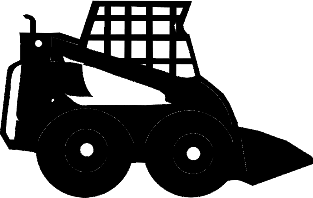 60 Clipart Skidsteer Dxf File Free Download - 3axis.co