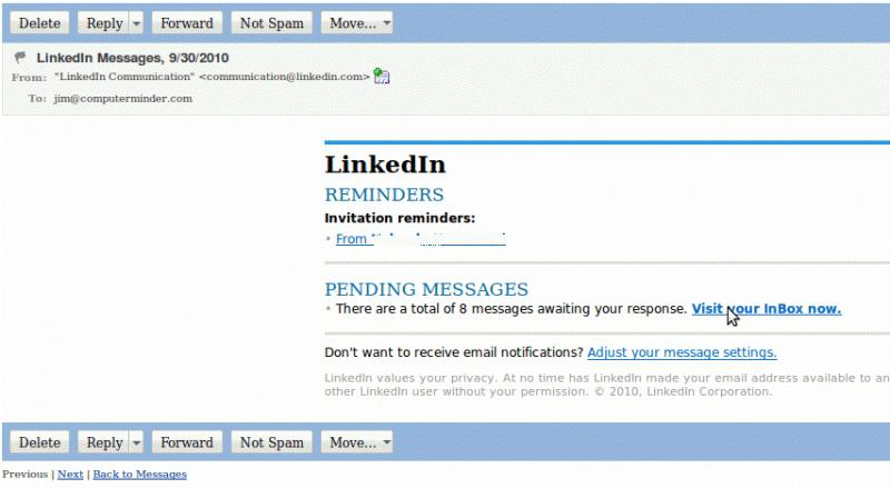 A Guide on 5 Common LinkedIn Scams - what is the advisor invitation verification form