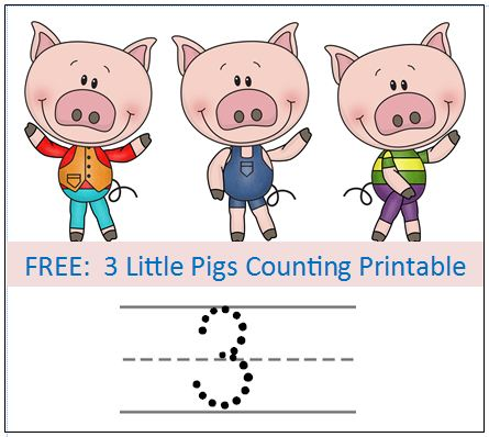 Three Little Pigs Sequencing \u2013 Printable Story Cards \u2013 3 Boys and a Dog