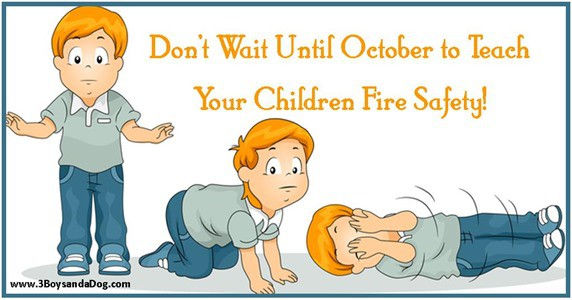 Fire Safety Month thumb Teach Your Kids Fire Safety and Prevention NOW!