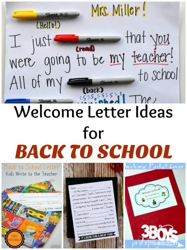 Welcome Back to School Letters \u2013 3 Boys and a Dog \u2013 3 Boys and a Dog - teacher welcome back letter