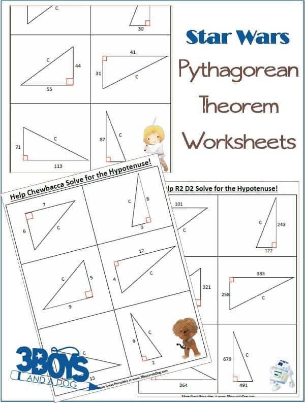 pythagorean theorem worksheet – Pythagorean Theorem Proof Worksheet