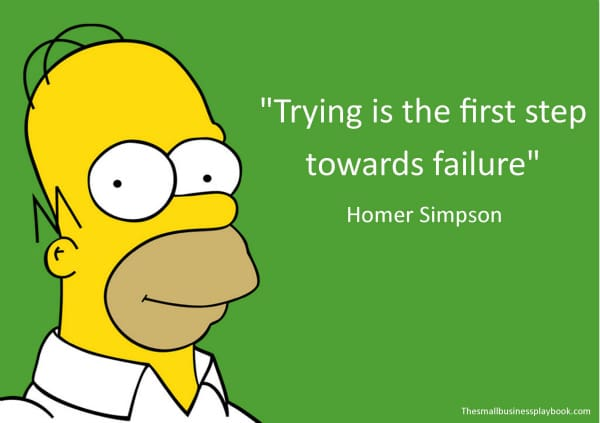 Motivational Quotes From Homer Simpson