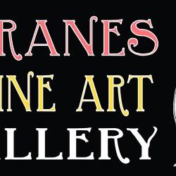 3 cranes fine art sign