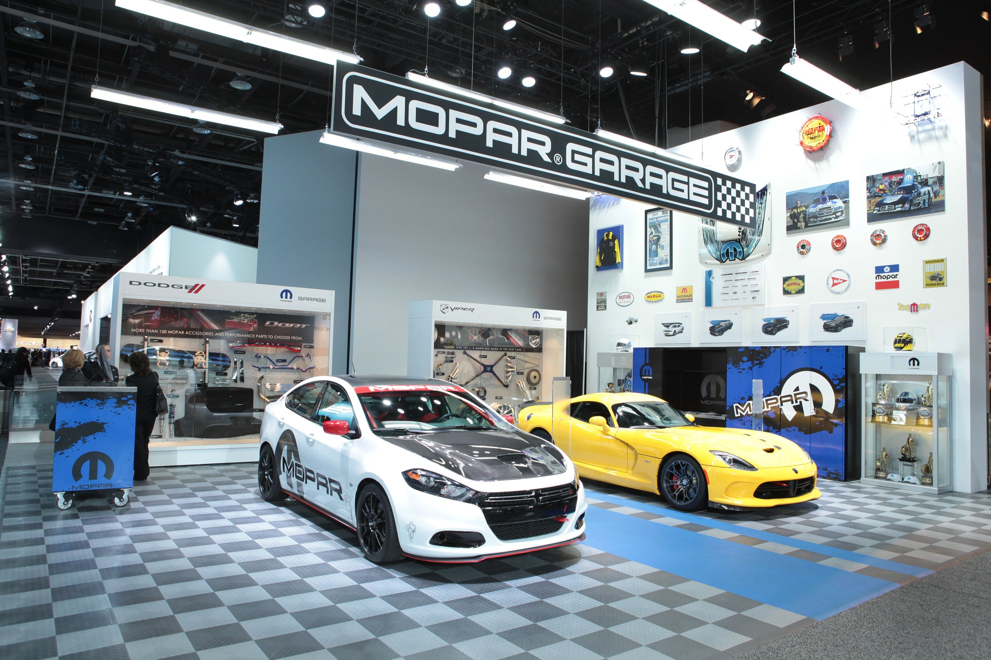 Accessories For Garage Mopar Garage Is A Must See At The North American International