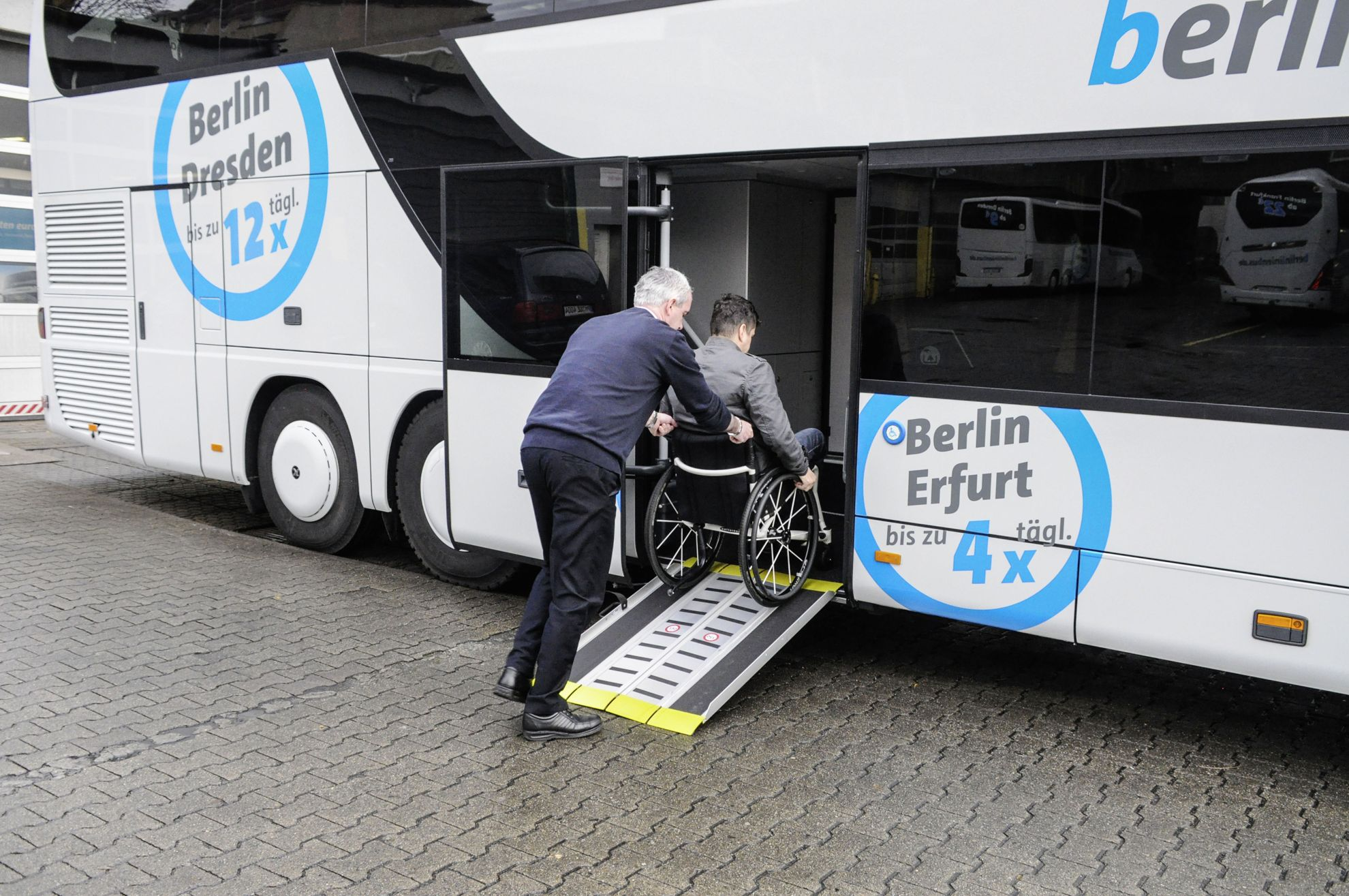 Bus Berlin Erfurt Setra Busses With Patented Handicapped Lift