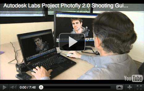 Autodesk Photofly-3D Modelle aus Fotos generieren