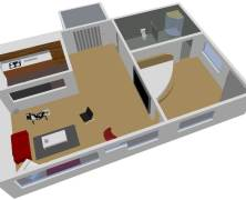 Demo: 3D-Raumplanung für Produktpräsentation