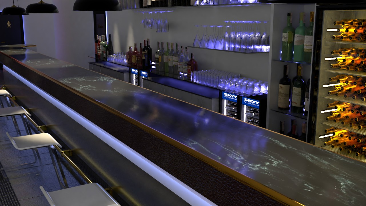 Bar Mit Theke Bar Theke 3d Ring De